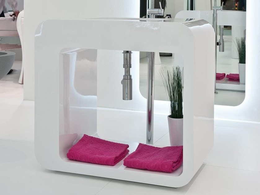 Freestanding washbasin UNOPUNTOZERO   Washbasin - LASA IDEA