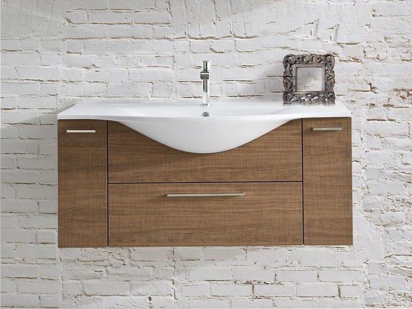 Single vanity unit with drawers VANITY 04 | Vanity unit - LASA IDEA