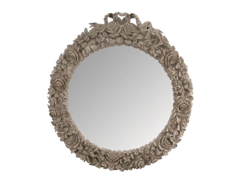 Oval framed mirror ROSE - BLEU PROVENCE