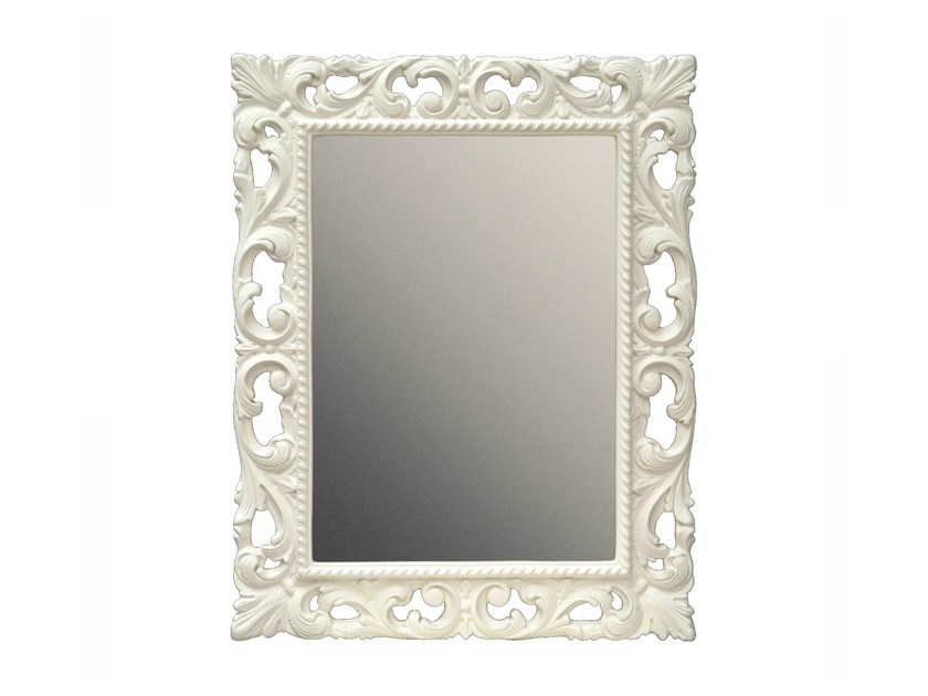 Rectangular framed mirror MUGUET by BLEU PROVENCE