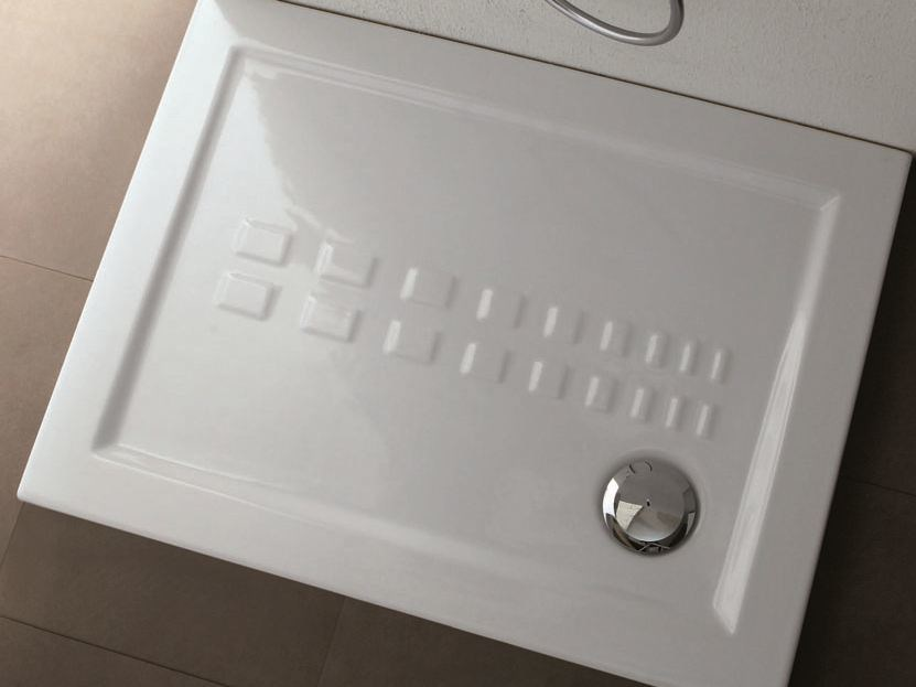 Rectangular shower tray IBIS | Shower tray - Olympia Ceramica