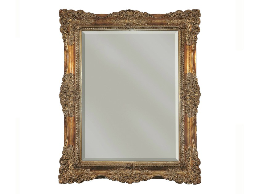 Wall-mounted framed mirror LIS - BLEU PROVENCE