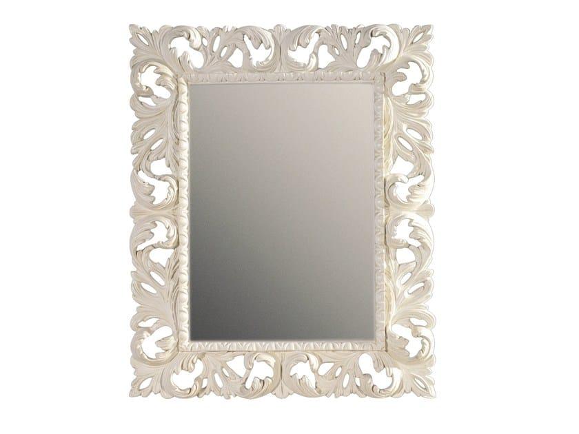 Rectangular framed mirror MAUVE by BLEU PROVENCE