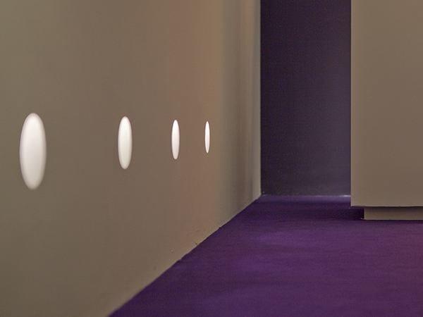 LED foot- and walkover light ROUND LIGHT MEDIUM - FLOS