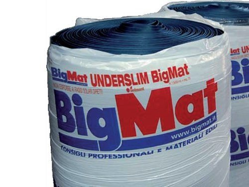 Sound insulation and sound absorbing felt in synthetic material UNDERSLIM BIGMAT - BigMat Italia