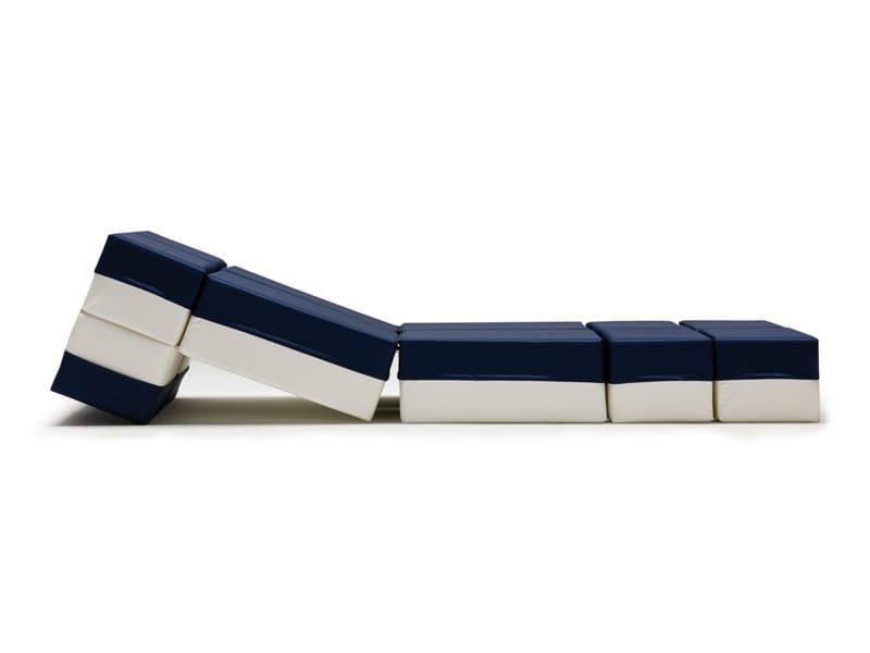 Pouf letto imbottito kuboletto milano bedding - Pouf letto design ...