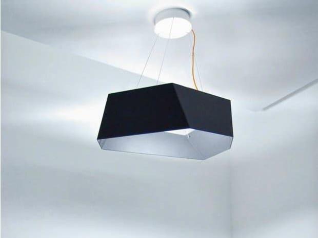 LED aluminium pendant lamp ANGOLO - Sattler