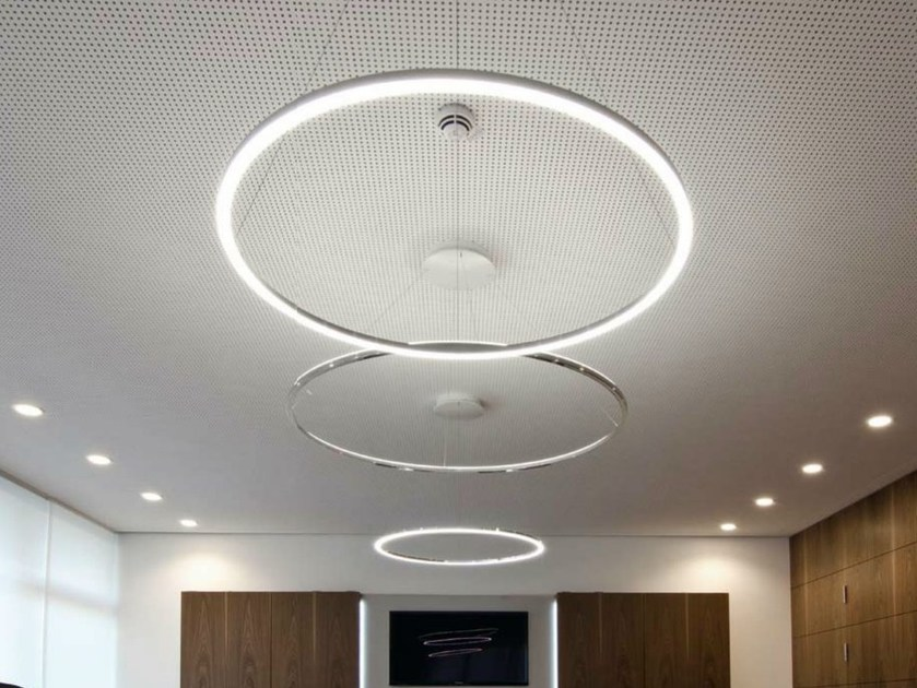 LED aluminium pendant lamp CIRCOLO SLIM | Pendant lamp - Sattler