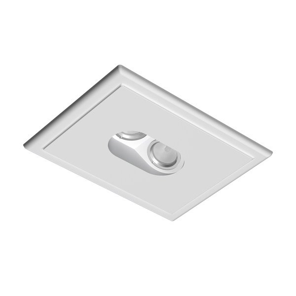 Halogen rectangular ceiling spotlight USB ROUND 2L W-W - FLOS