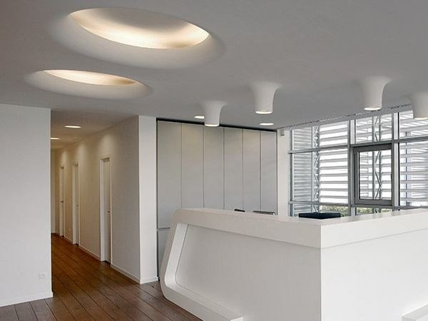 Indirect light recessed ceiling lamp USO 1400 - FLOS
