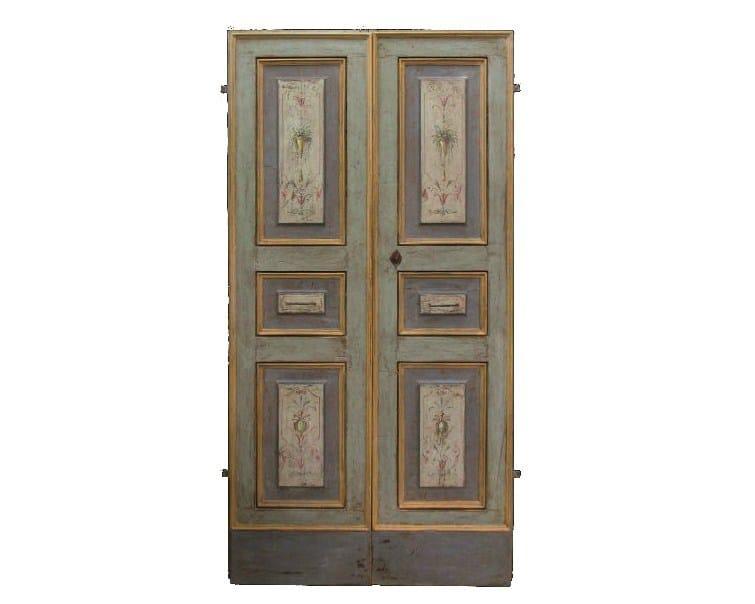 Wooden door OLD DOOR 4 - BLEU PROVENCE