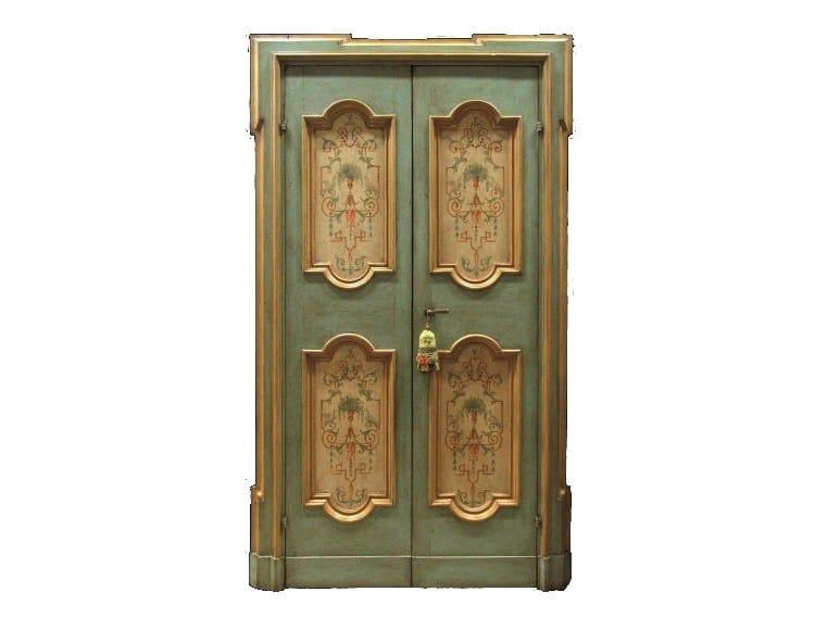 Wooden door OLD DOOR 5 - BLEU PROVENCE