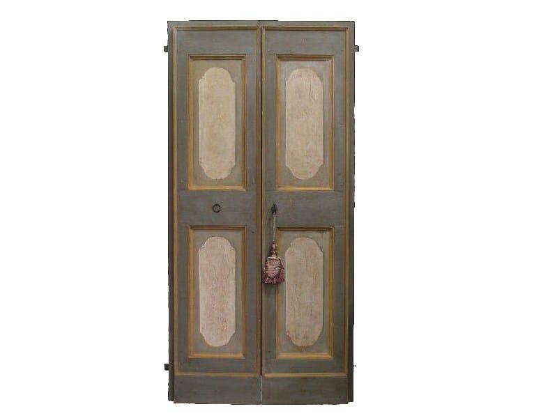Classic style wooden door OLD DOOR 8 - BLEU PROVENCE