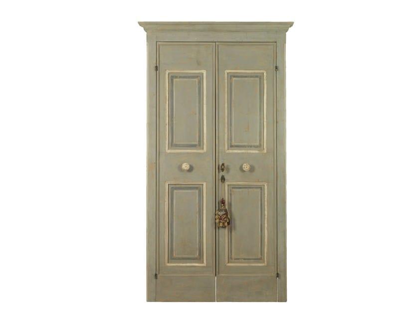 Wooden door OLD DOOR 9 - BLEU PROVENCE