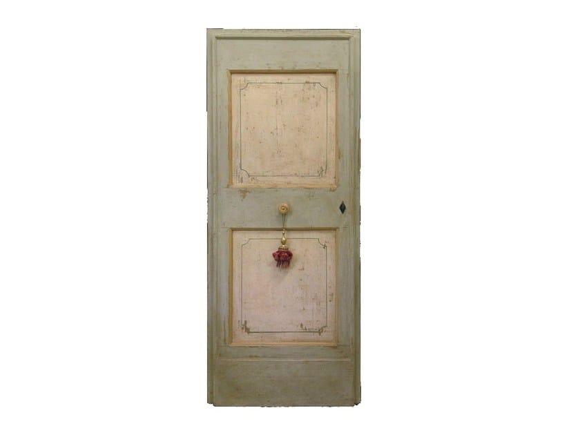 Wooden door OLD DOOR 12 - BLEU PROVENCE