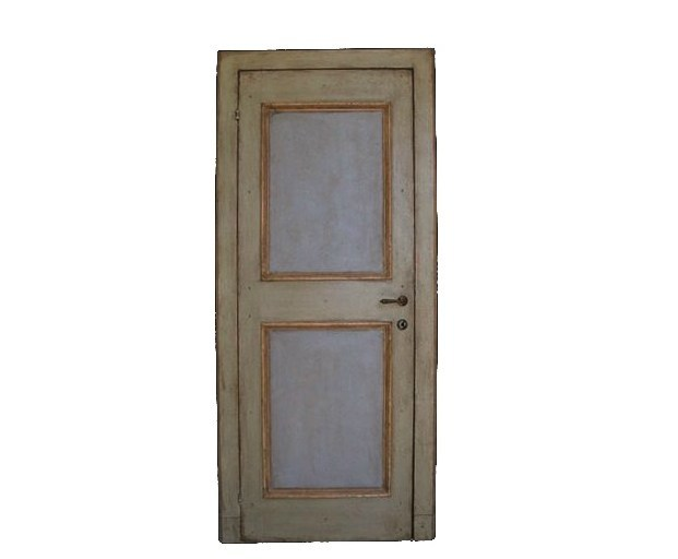 Wooden door OLD DOOR 13 - BLEU PROVENCE