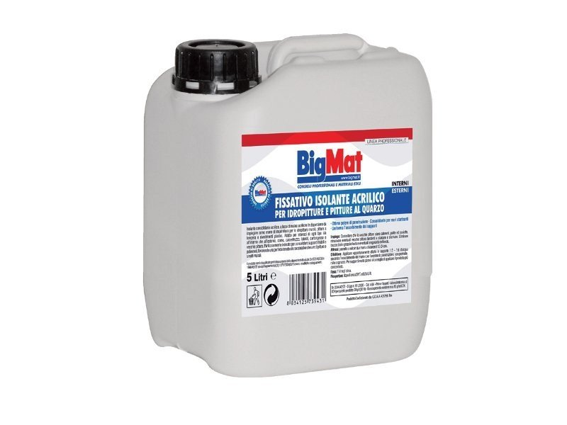 Base coat and impregnating compound for paint and varnish Insulating acrylic fixative by BigMat