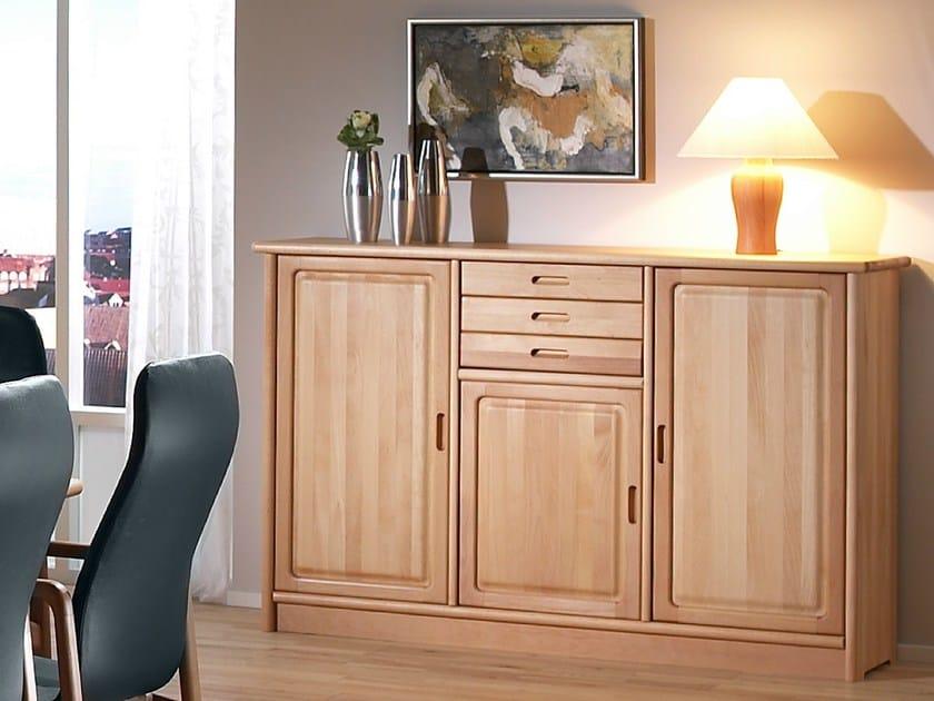 Wooden sideboard 1120M   Sideboard - Dyrlund