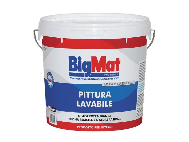 Washable water-based paint Washable paint - BigMat Italia