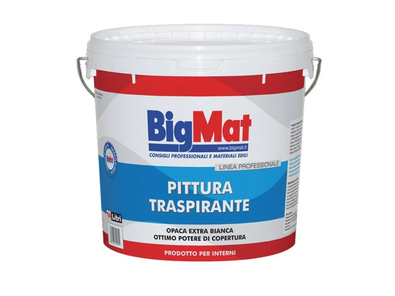 Breathable water-based paint Breathable paint - BigMat Italia