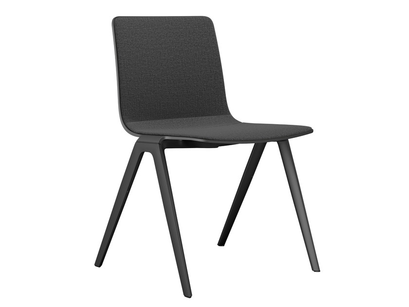 Stackable fabric chair A-Chair | Fabric chair - Brunner