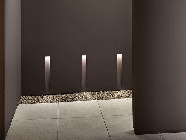 Semi-inset lamp VERTICAL LIGHT SMALL - FLOS