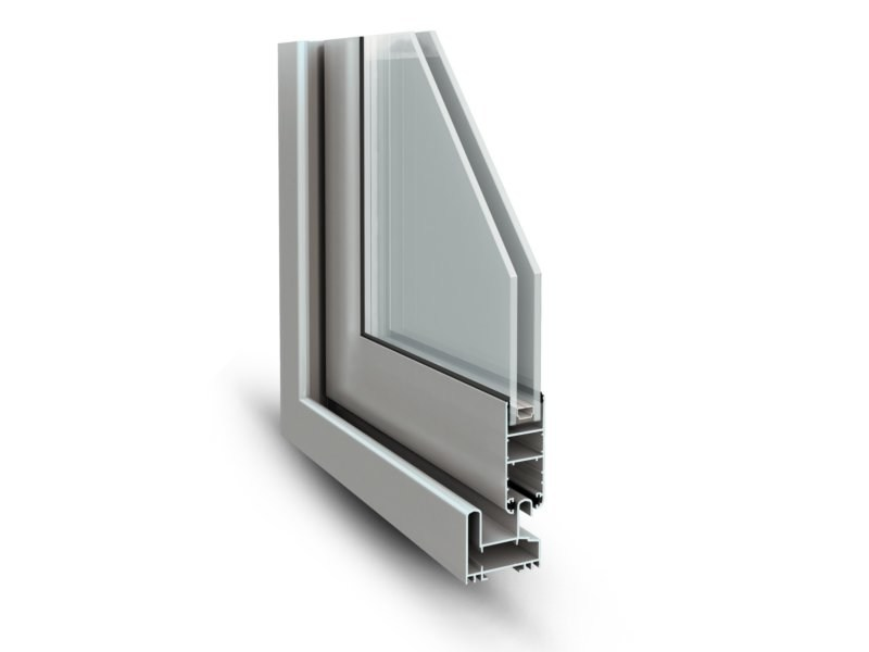 Aluminium sliding window SLIDE 60 - ALsistem