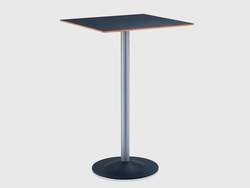 Square HPL table CROSS | Square table - Brunner