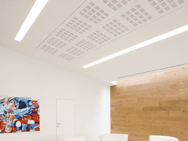 Linear lighting profile for LED modules SOFTPROFILE SMOOTH | Ceiling mounted Linear lighting profile by FLOS