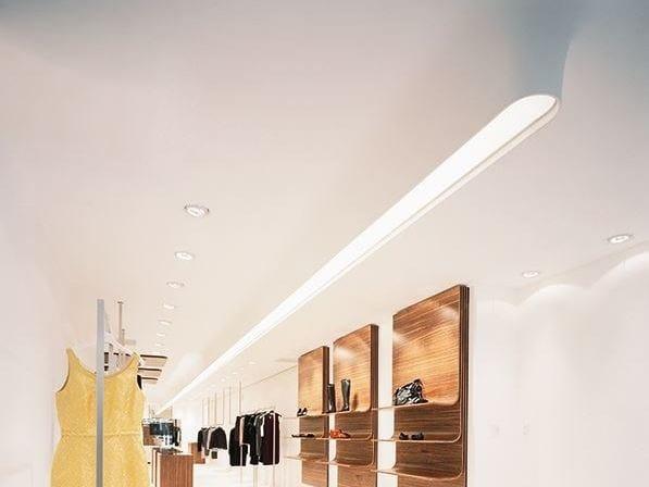 Ceiling mounted modular lighting profile USP 06 18 31 | Semi-inset lighting profile - FLOS