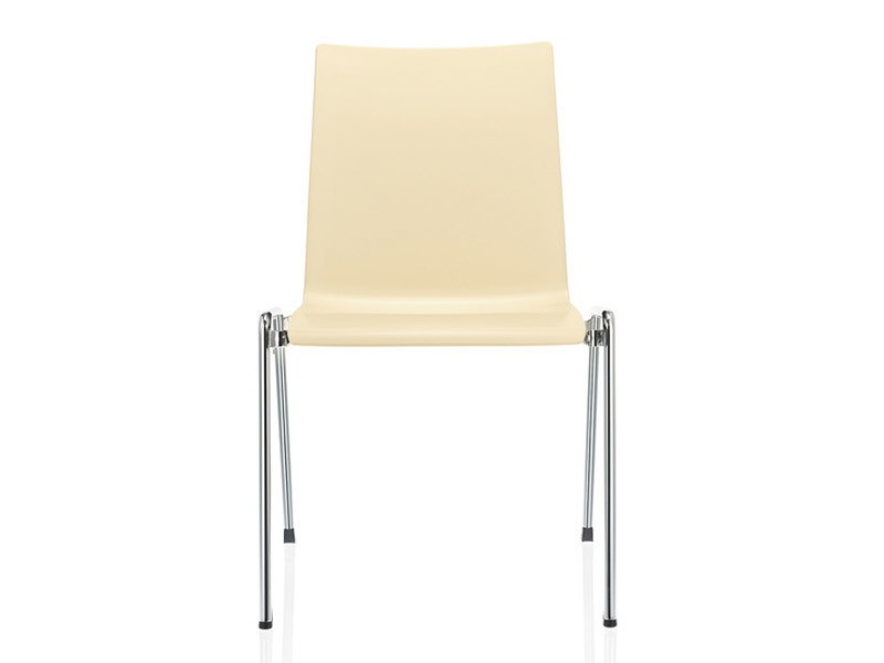Stackable plastic training chair FIRST PLACE | Plastic training chair - Brunner
