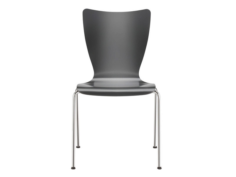 Stackable plastic chair FOX | Plastic chair by Brunner