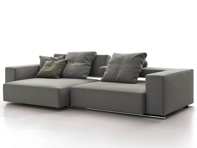 Recliner fabric sofa ANDY '13 | Sofa - B&B Italia