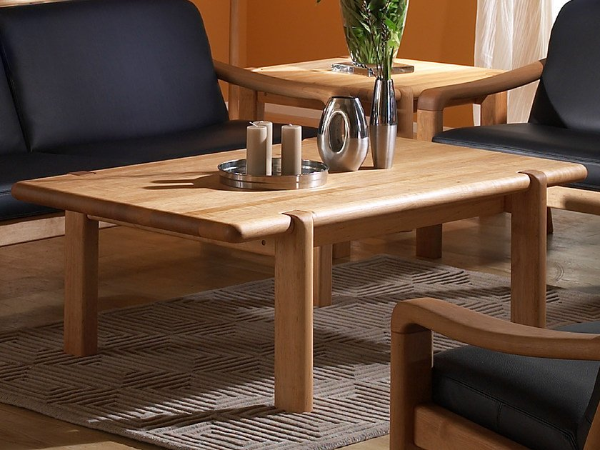 Rectangular wooden coffee table 1511D | Coffee table - Dyrlund
