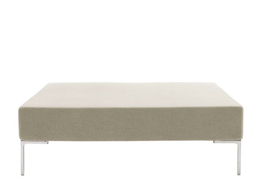 Upholstered fabric pouf CHARLES | Pouf - B&B Italia