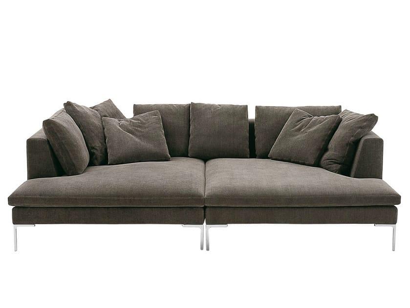 Sectional fabric sofa CHARLES LARGE   Sectional sofa - B&B Italia