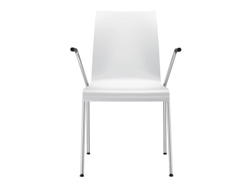 Lacquered chair with armrests PRIME | Chair with armrests - Brunner
