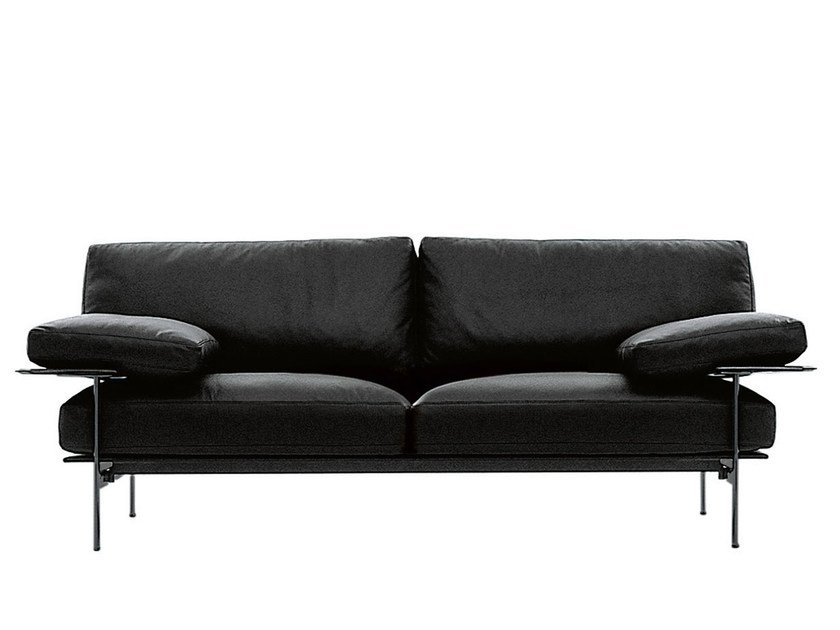 2 seater leather sofa DIESIS | Sofa - B&B Italia