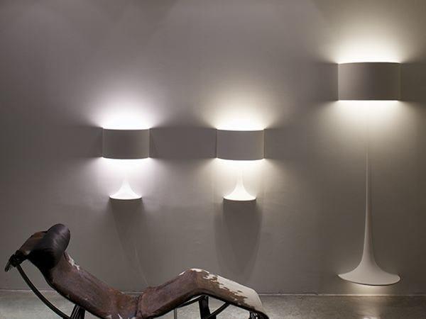 Lampada da parete lampada da incasso soft spun large by for Flos illuminazione