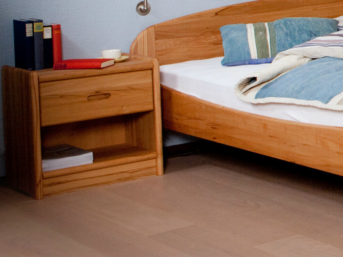 Wooden bedside table 2137M | Bedside table - Dyrlund