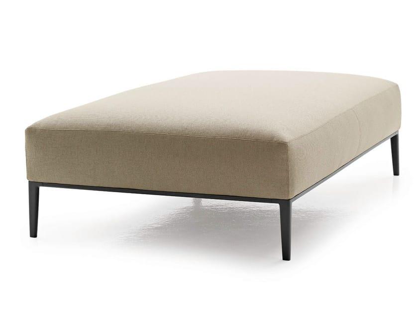 Upholstered fabric pouf JEAN | Pouf - B&B Italia