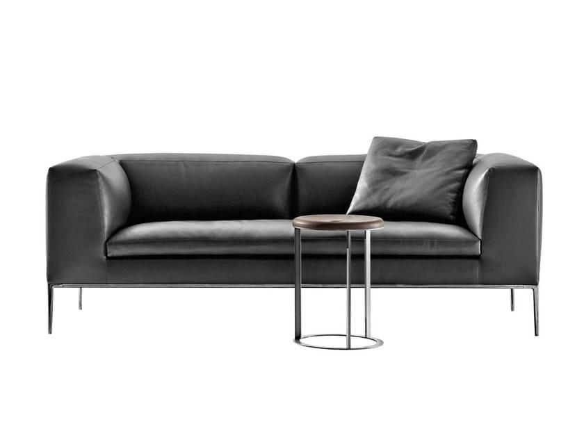 3 seater leather sofa MICHEL | Sofa - B&B Italia