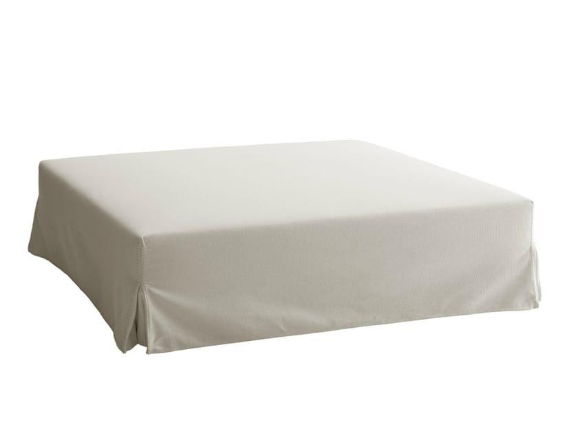Upholstered fabric pouf RAY | Pouf - B&B Italia