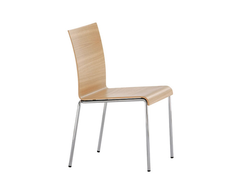 Wood veneer chair VERONA | Chair - Brunner