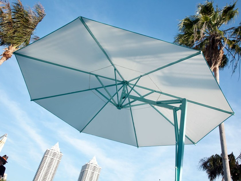 ampel verstellbarer runder sonnenschirm belvedere by. Black Bedroom Furniture Sets. Home Design Ideas
