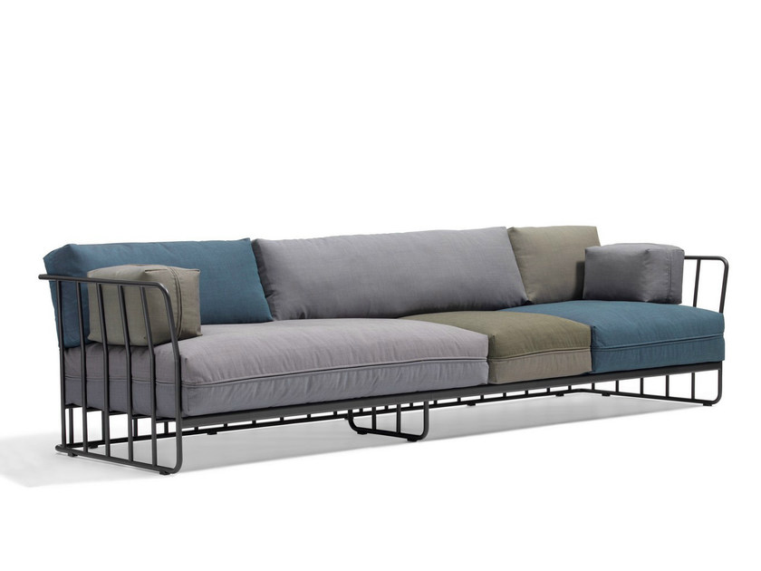 Fabric sofa CODE 27   5 seater sofa by Blå Station