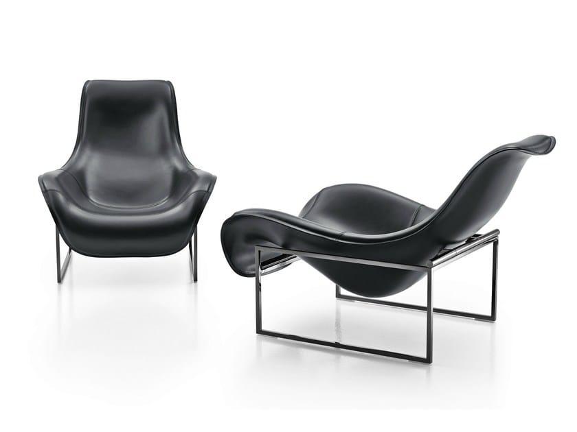 Armchair MART | Leather armchair - B&B Italia