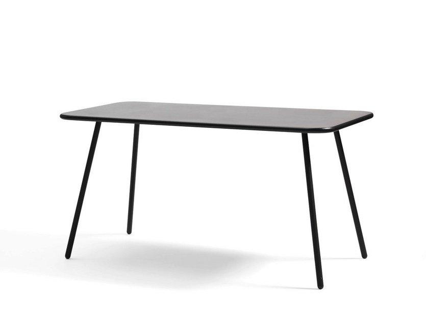 Folding MDF table KAFFE | Rectangular table - Blå Station