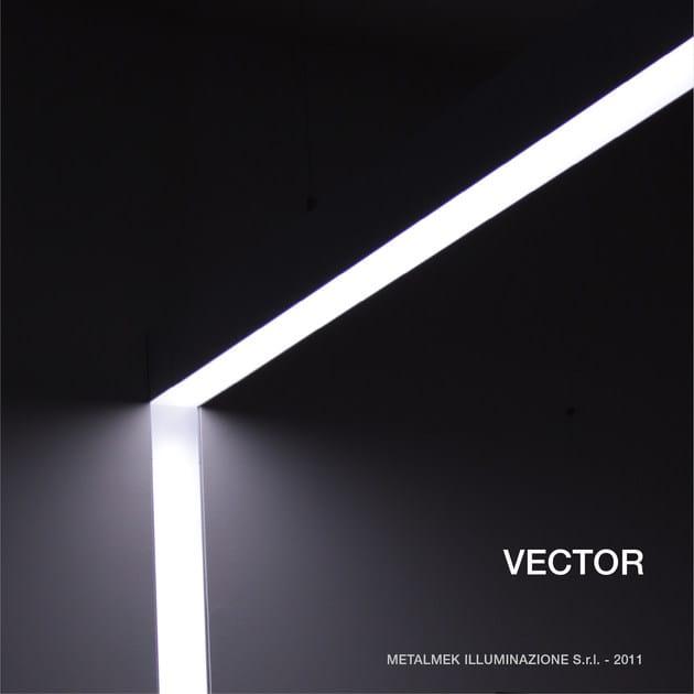 Extruded aluminium built-in lamp VECTOR - METALMEK ILLUMINAZIONE