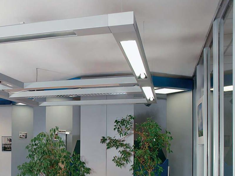 Modular ceiling lamp MONDRIAN - METALMEK ILLUMINAZIONE